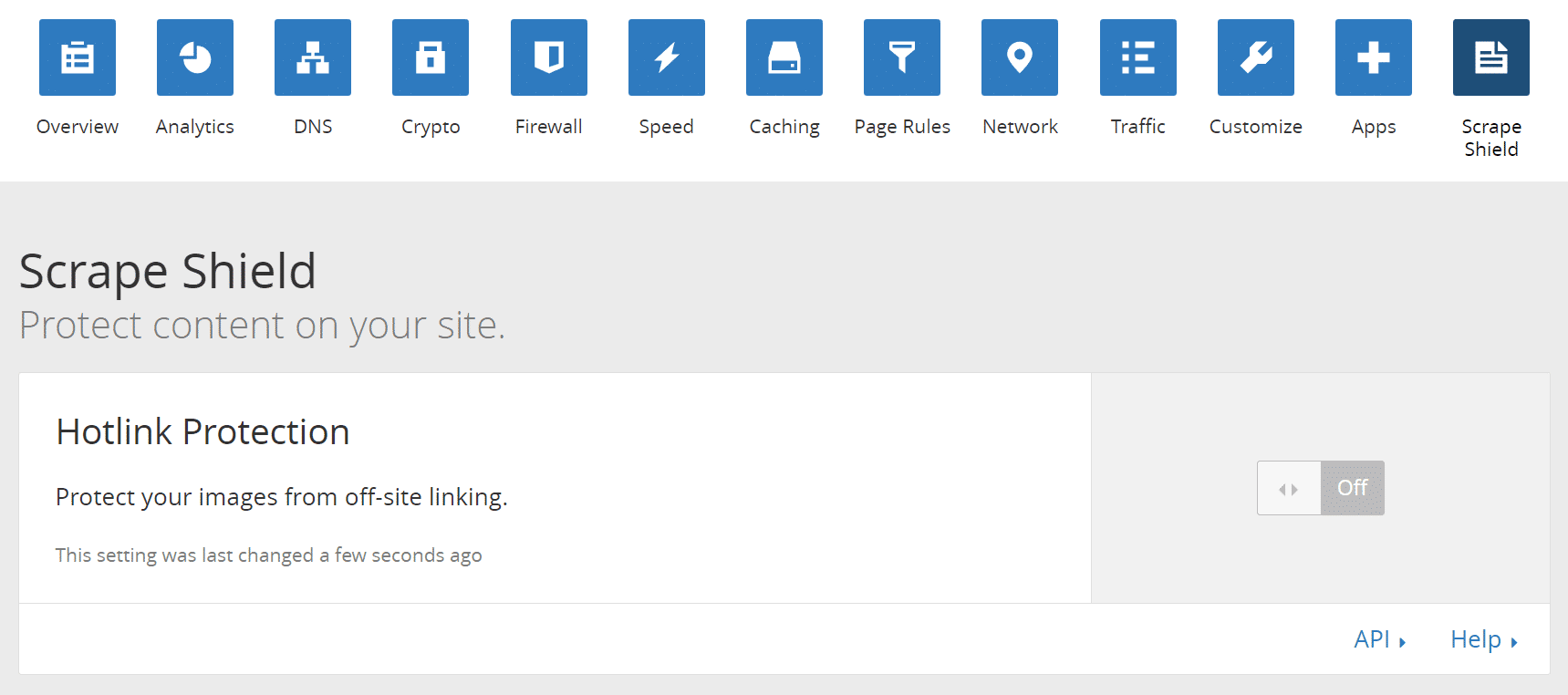 cloudflare hotlink protection