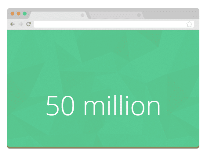 50 million WordPress blogs