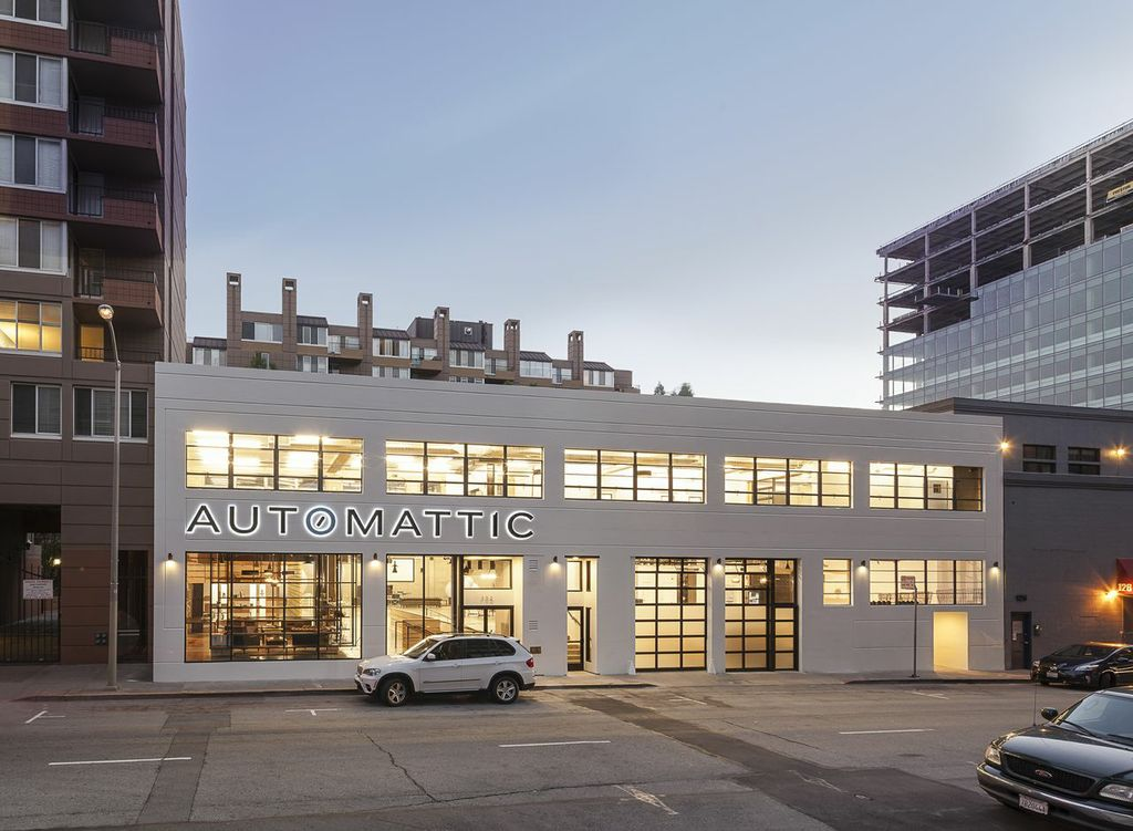 Automattic headquarters in San Francisco
