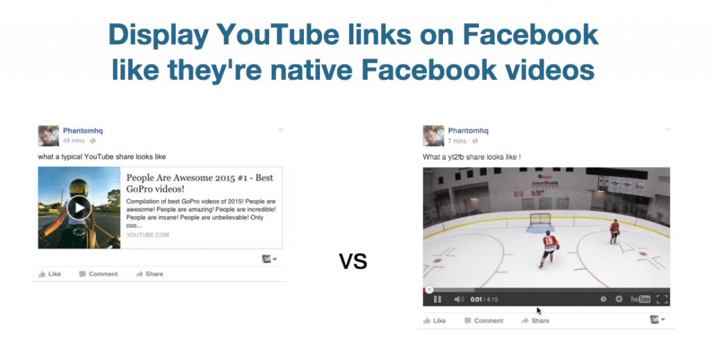 yourube videos on facebook