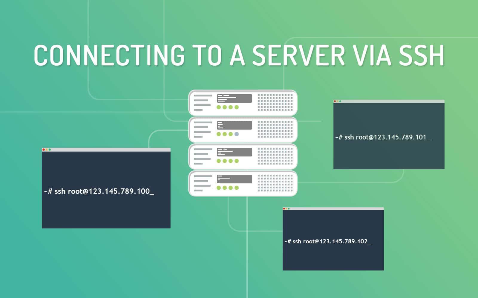 how to connect with servers