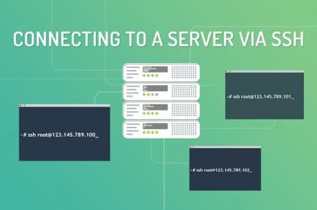 connect via ssh
