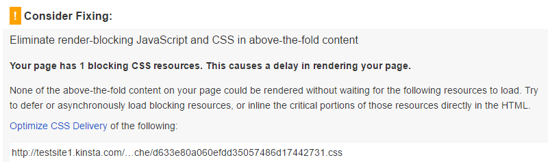 eliminate render-blocking JavaScript