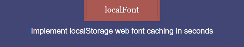 localfont screenshot