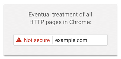 non https warning chrome