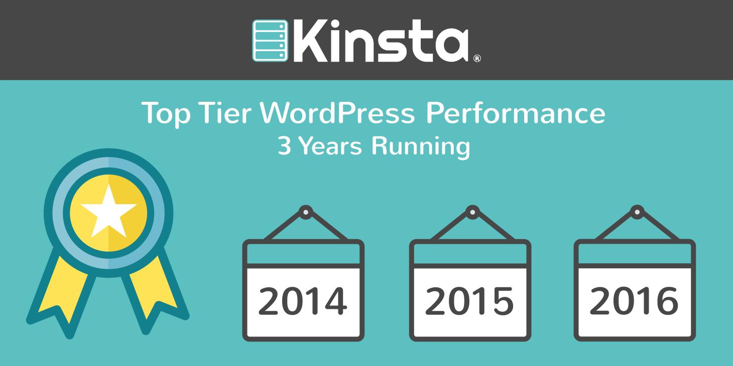 top tier wordpress hosting performance