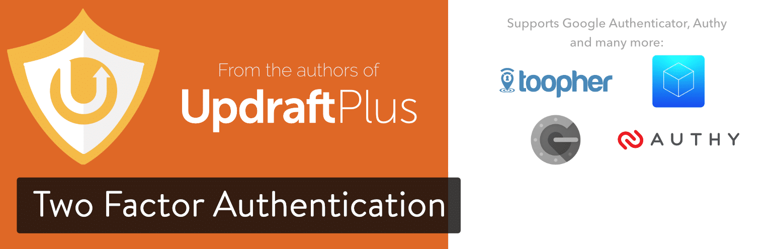 UpdraftPlus WordPress plugin de autenticación de dos factores