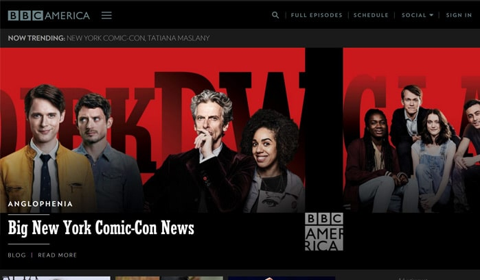 bbc america wordpress sites