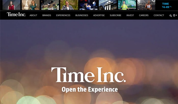 time inc wordpress sites