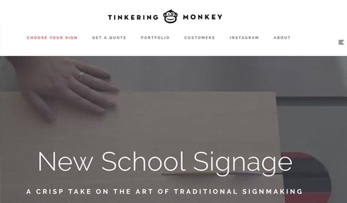 tinkering-monkey-wordpress-sites 130+ WordPress Site Examples of Big Brands in 2018