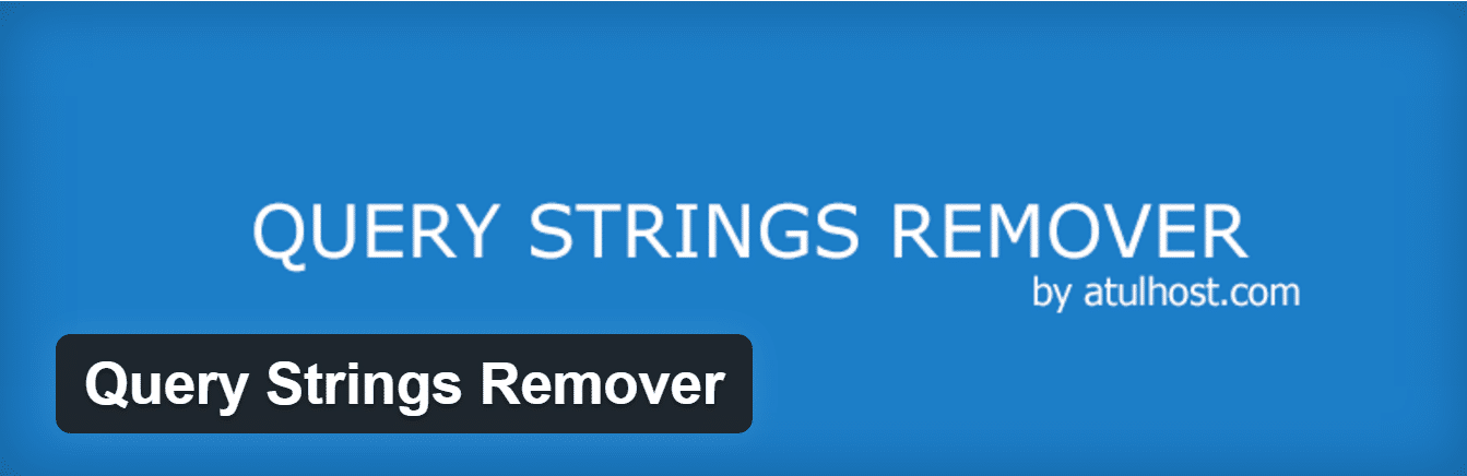 query strings remover plugin
