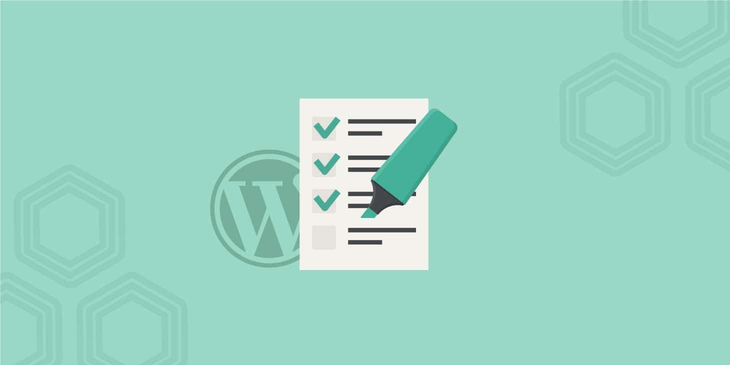 WordPress SEO Checklist - 45 Tips for 2017