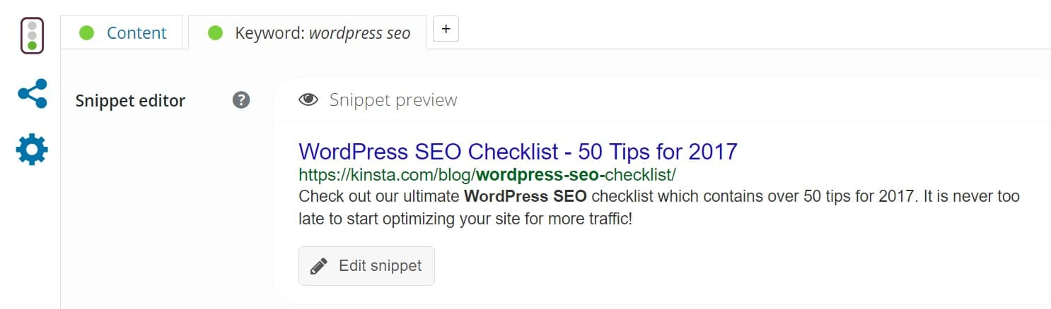 wordpress seo meta descriptions ctr