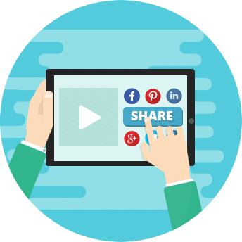 Share social content