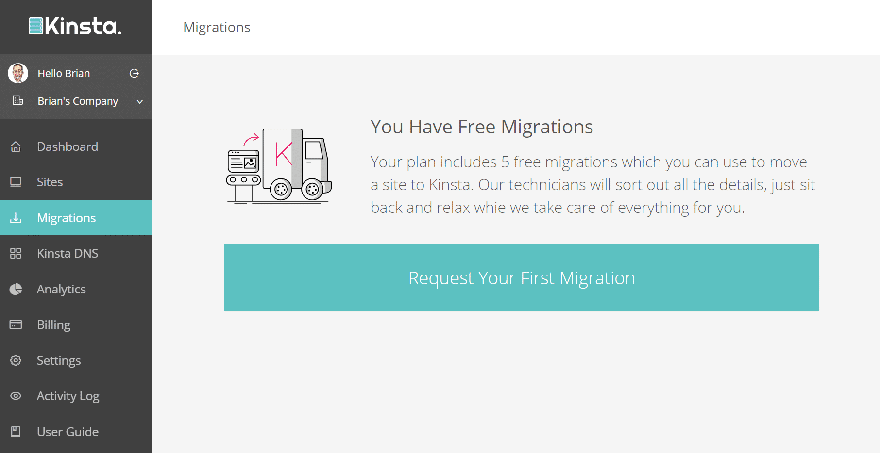 wordpress migrations