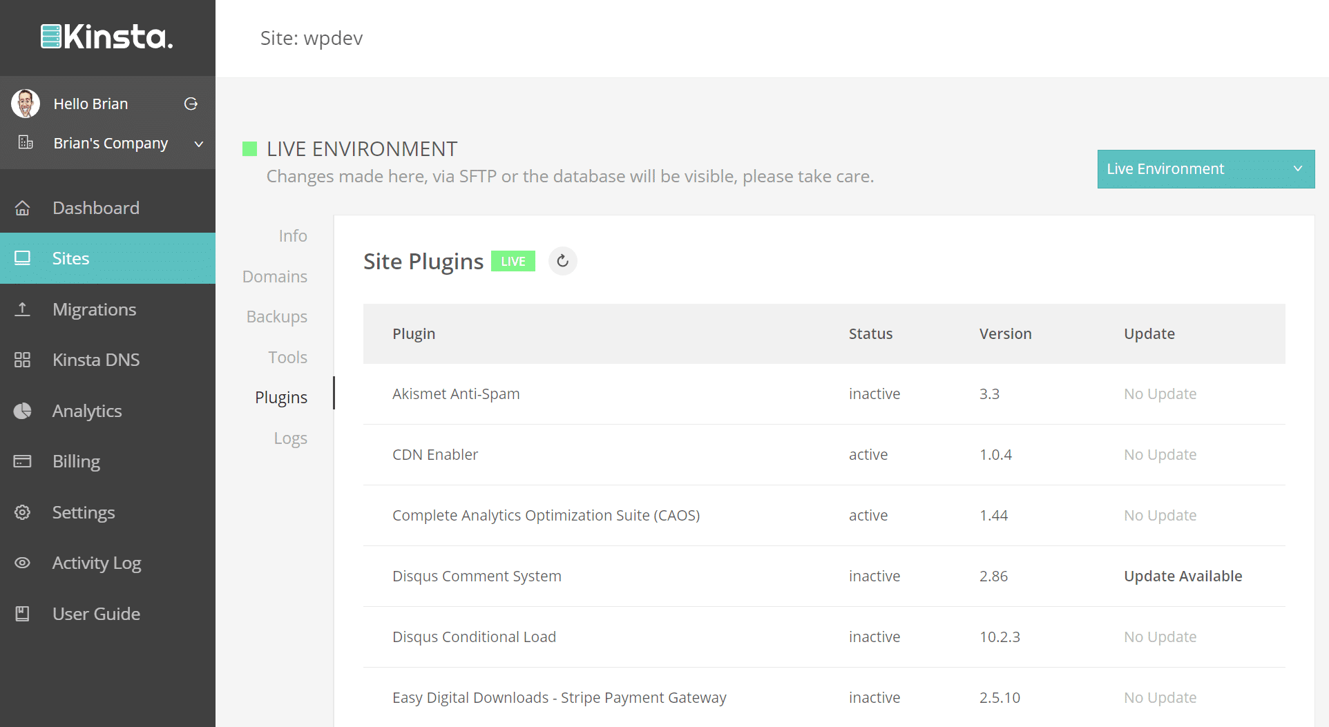 wordpress plugin list