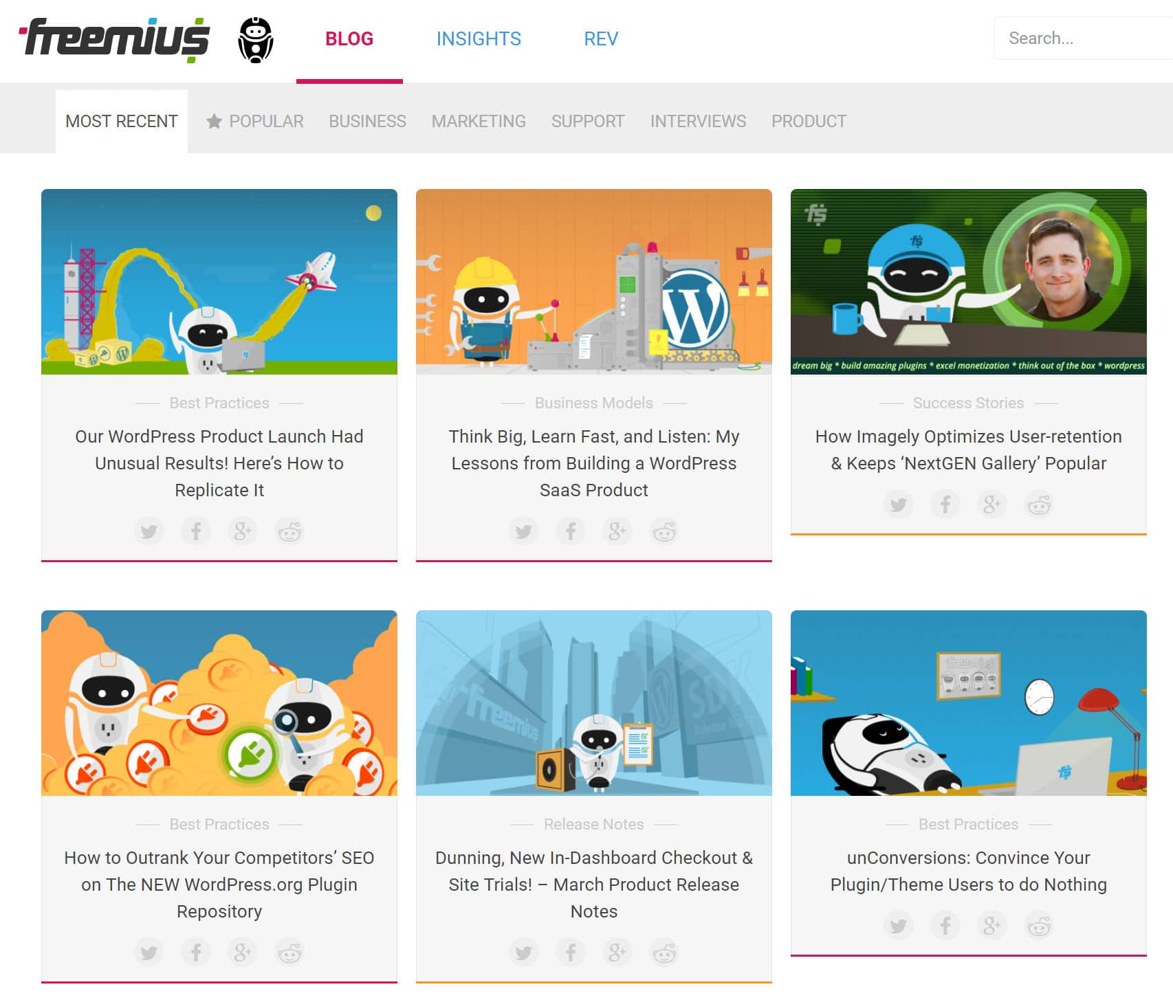 freemius blog