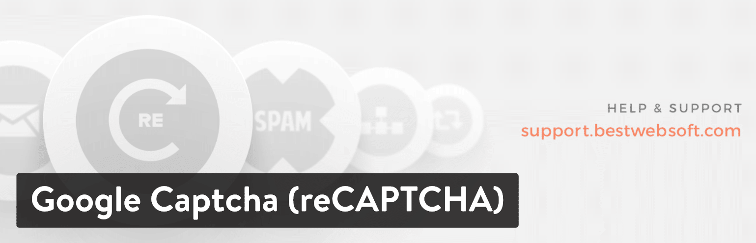Google Captcha (reCAPTCHA) WordPress plugin