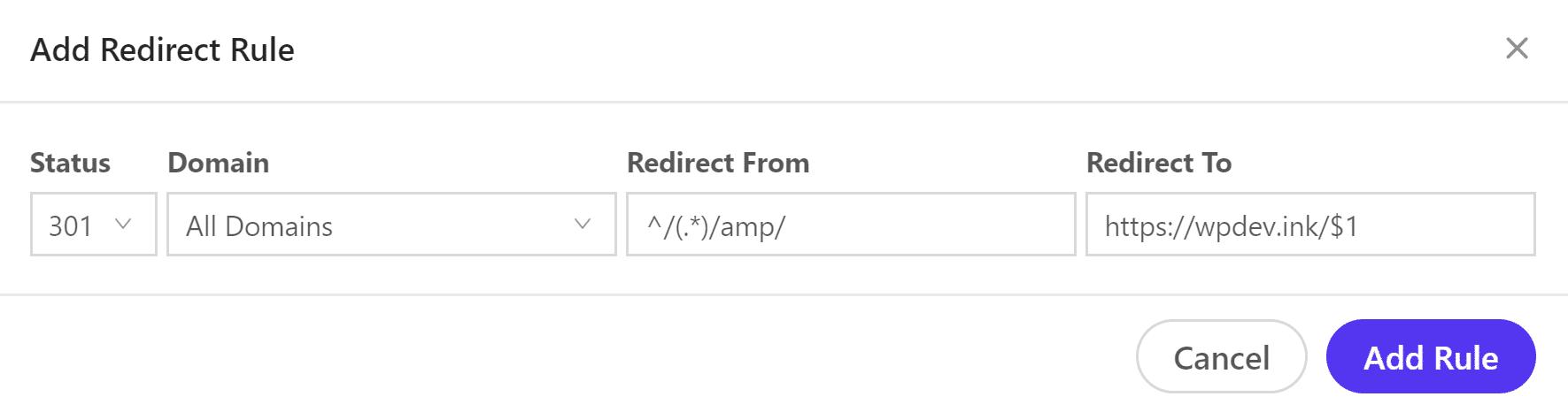 Regex example