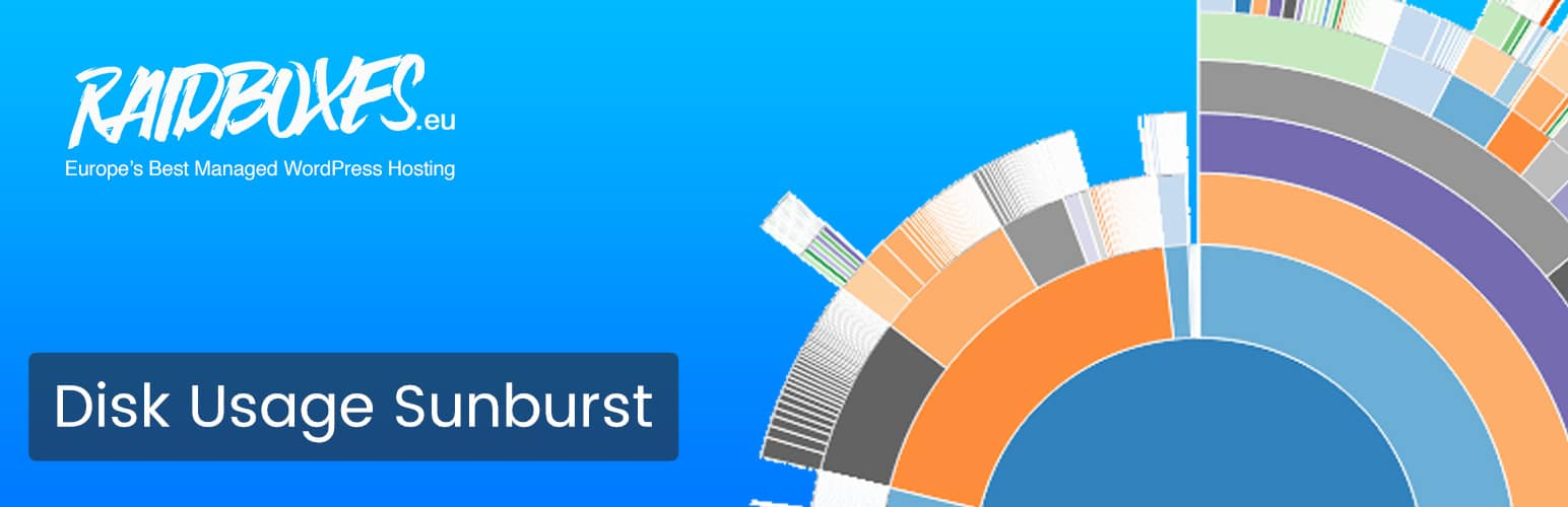 Disk Usage Sunburst WordPress plugin
