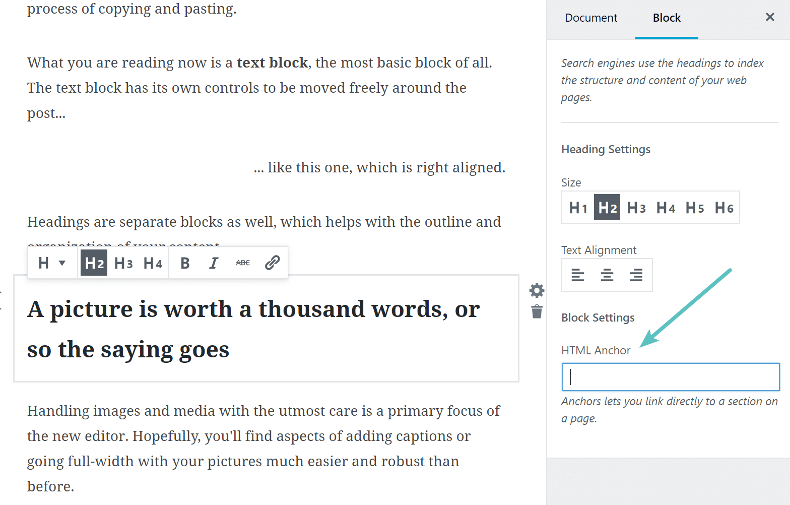 Diving Into The New Gutenberg Wordpress Editor Pros And Cons Folks Including Myself Five Way Switch Is A Little Confusing Anchor Support