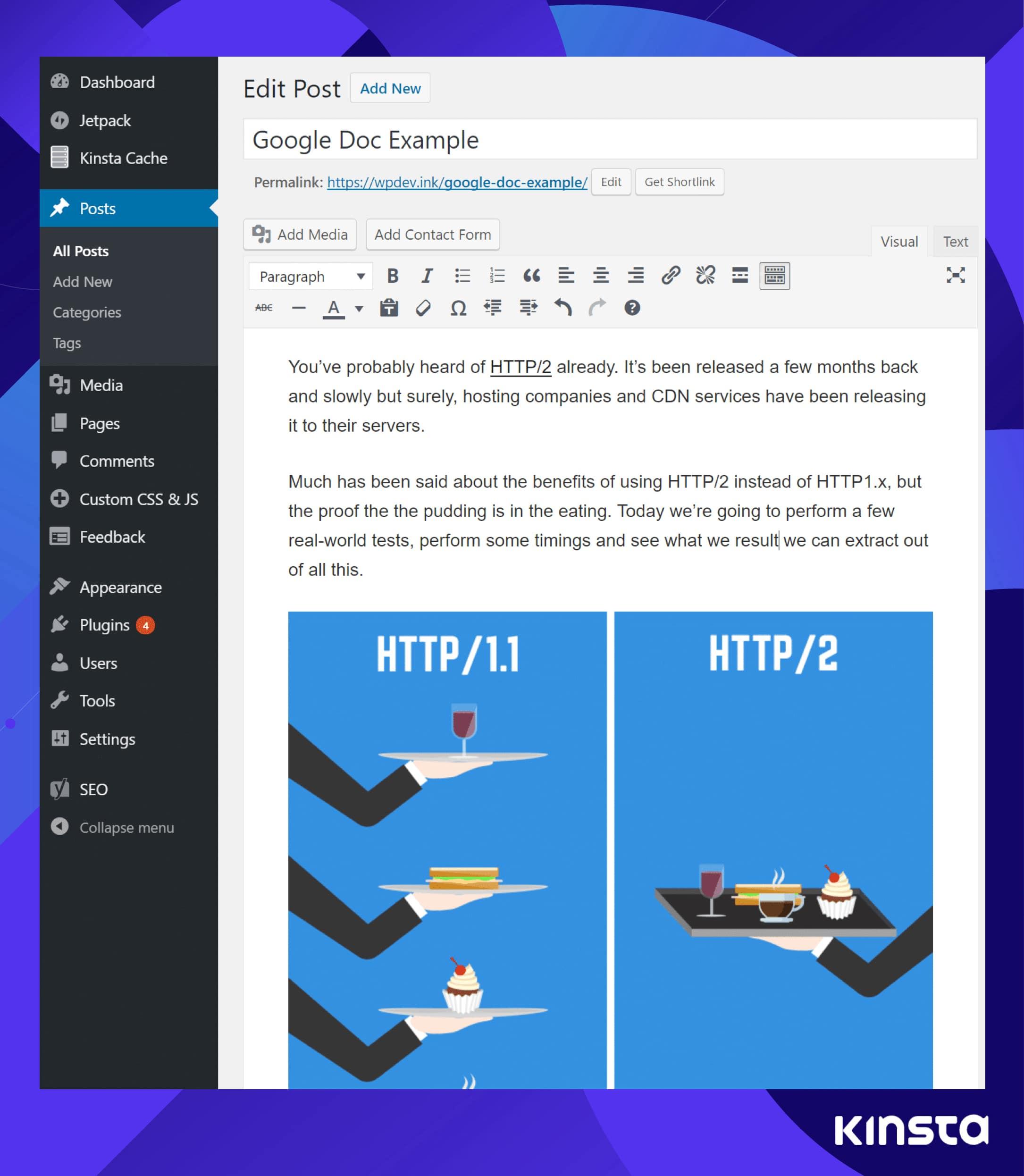 Google Docs Jetpack example