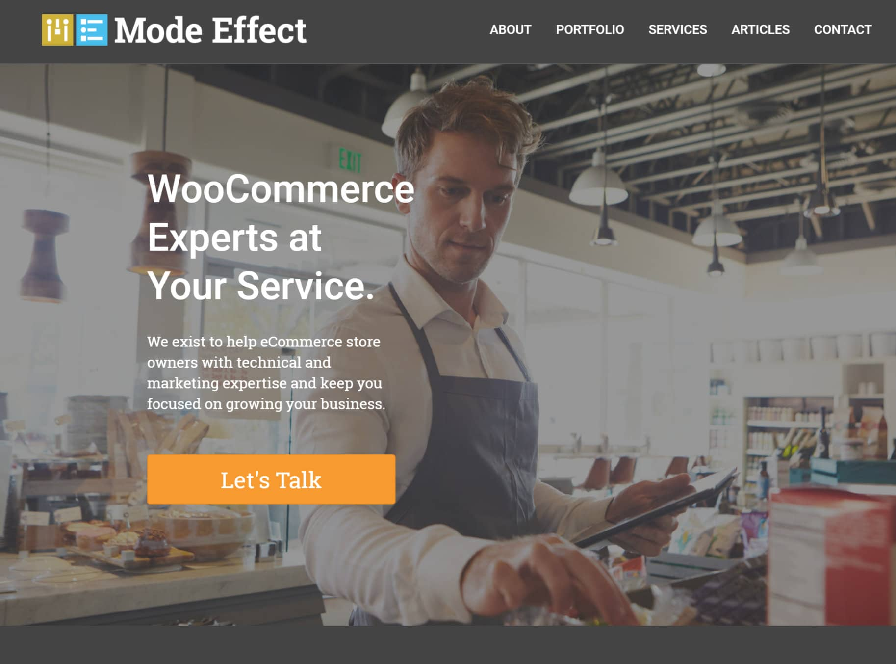 mode effect woocommerce developers