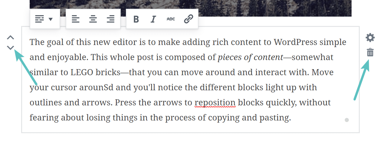 Working with Gutenberg blocks