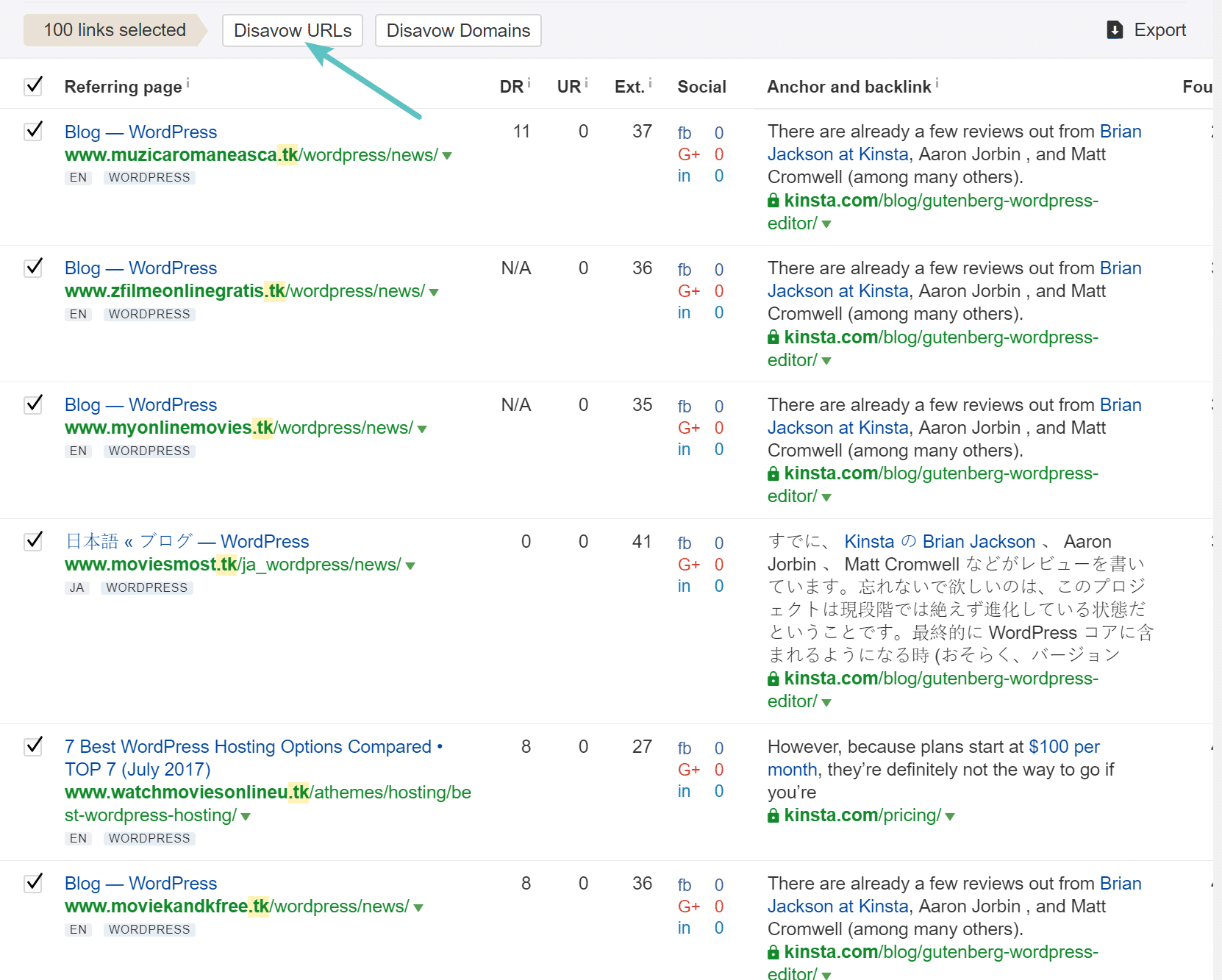 Negative SEO (Case Study) - Cleaning up an Attack With Ahrefs