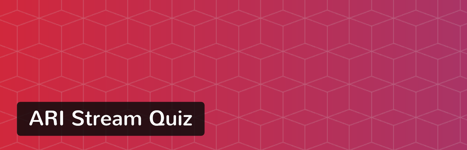Ari Stream Quiz WordPress plugin