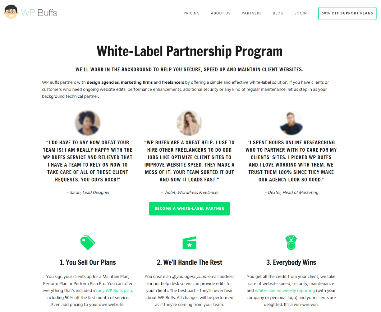 White-label partnership
