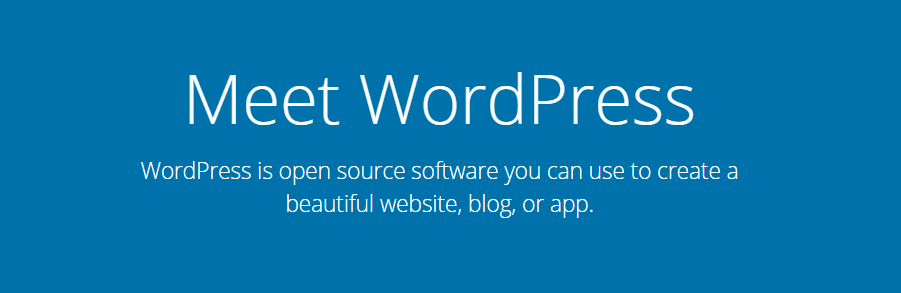 WordPress.org open source software