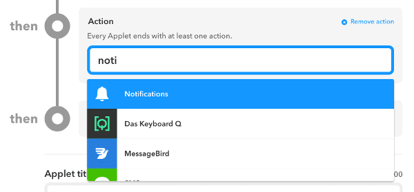IFTTT Notifications