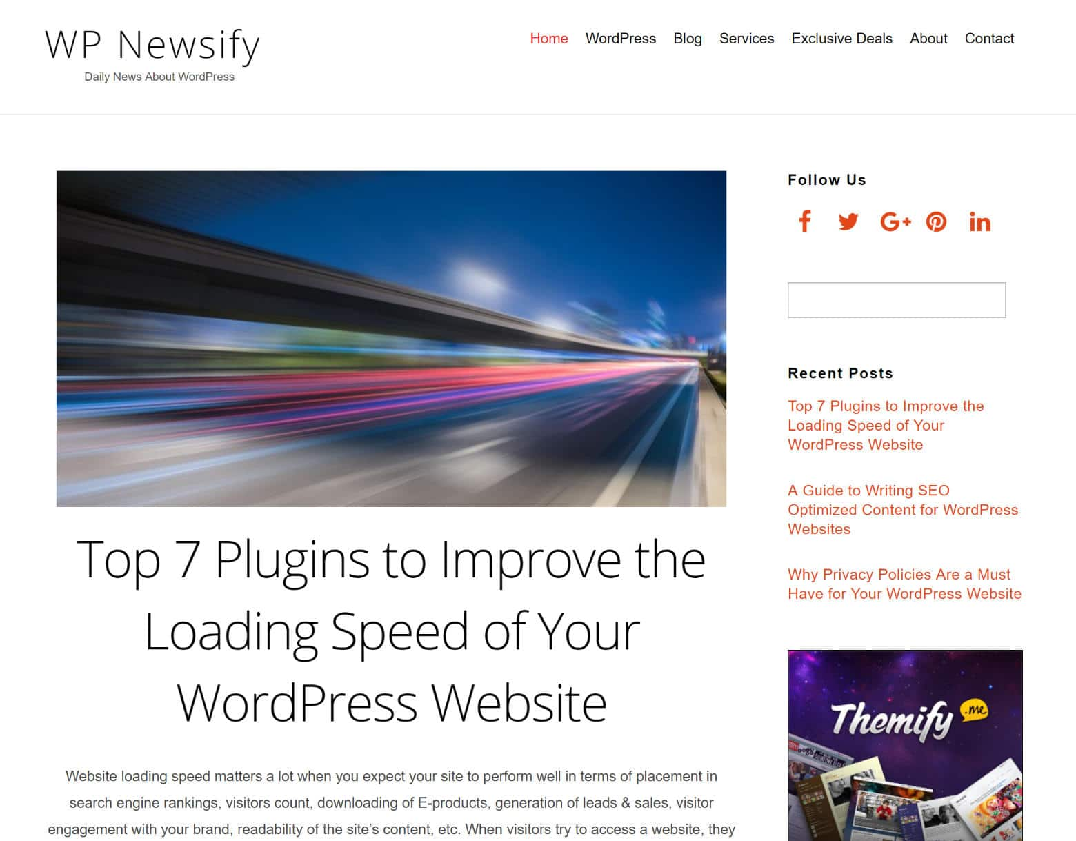 WP Newsify