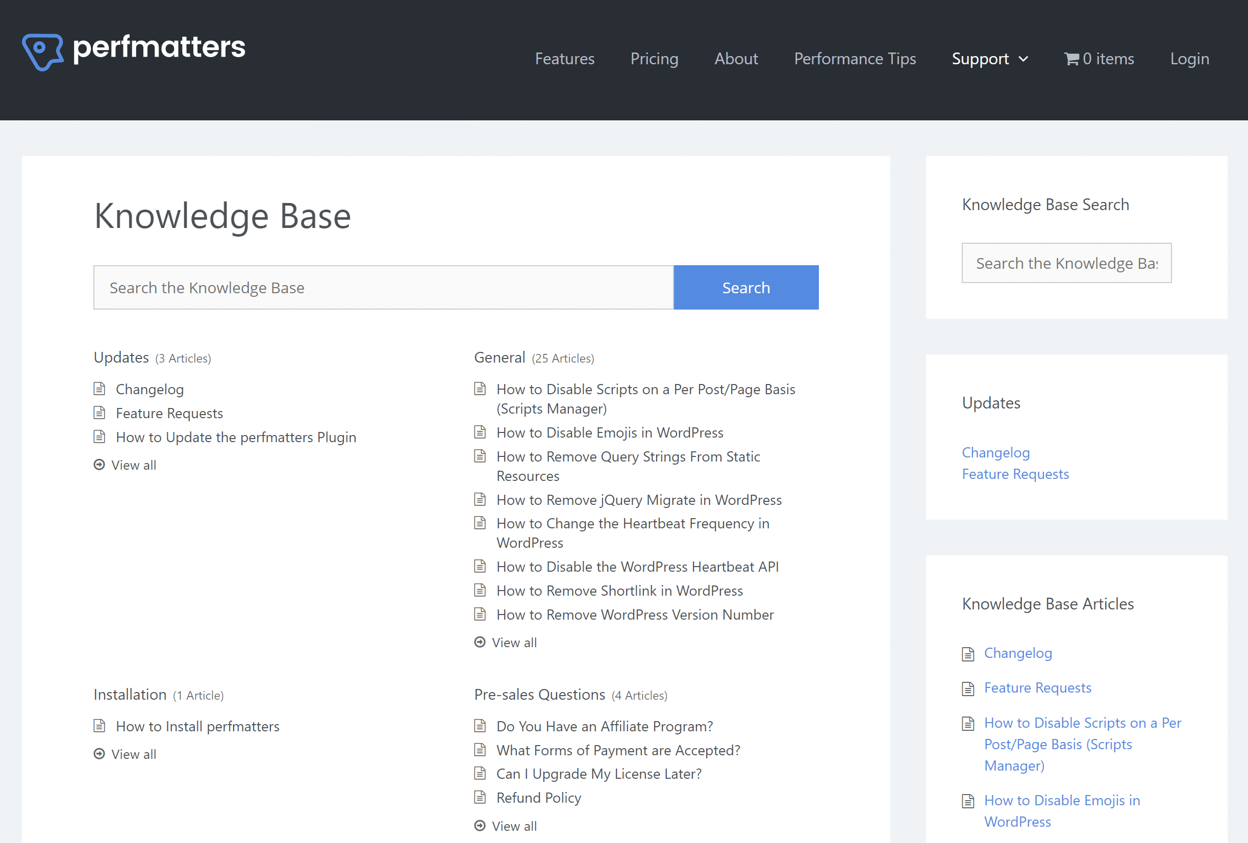 Heroic Knowledge Base WordPress plugin