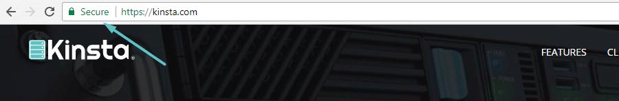 How Google Chrome treats HTTPS