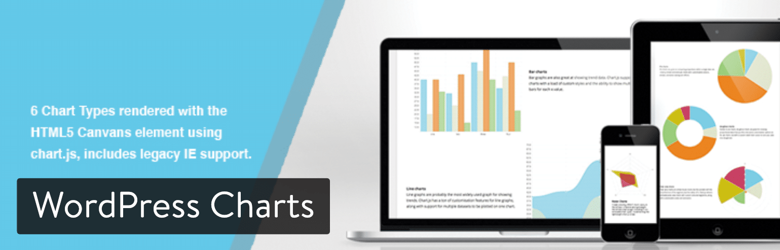 WordPress Charts plugin