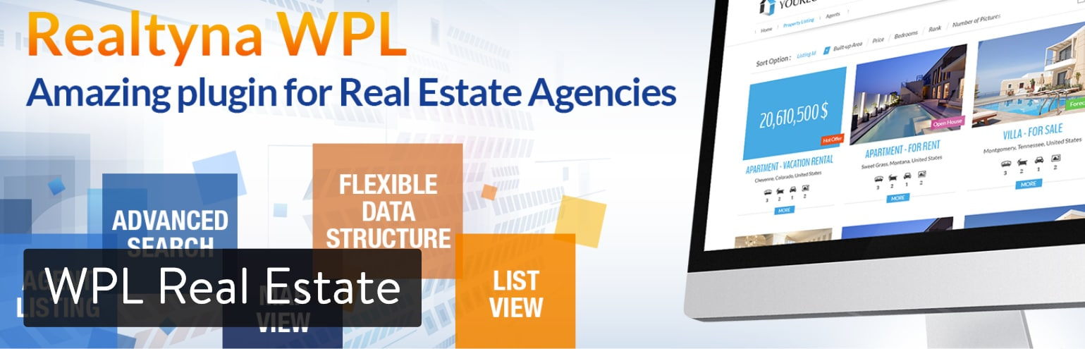 WPL Real Estate WordPress plugin