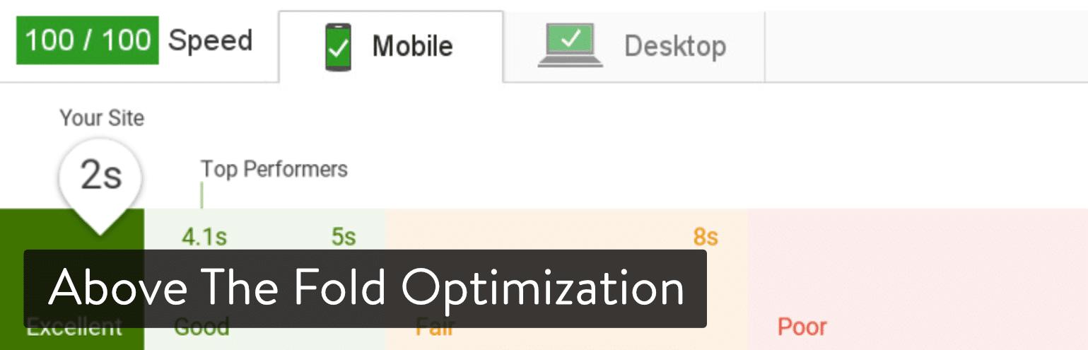 Above the Fold Optimization WordPress plugin
