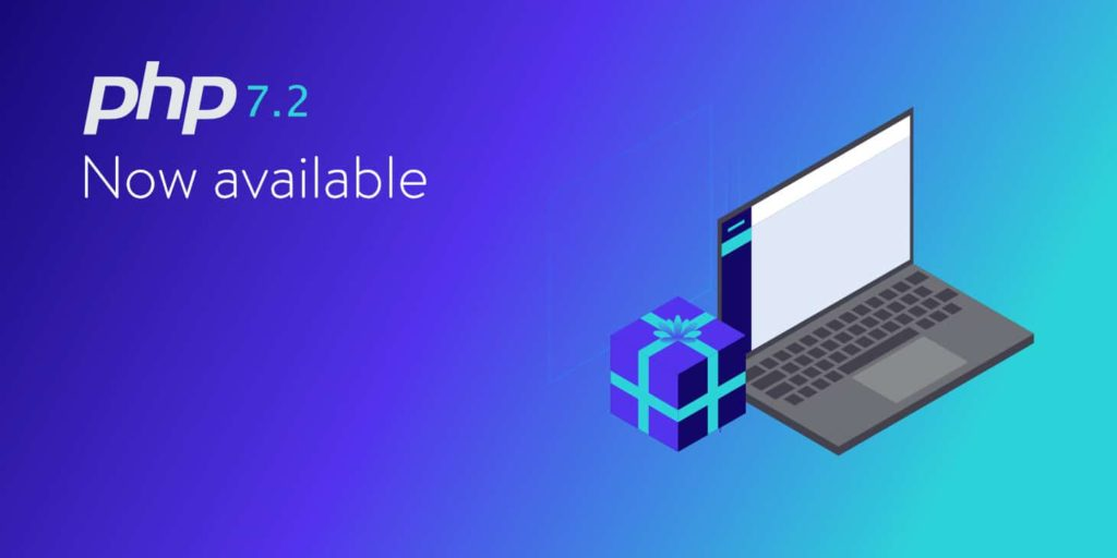 php 7.2 now available