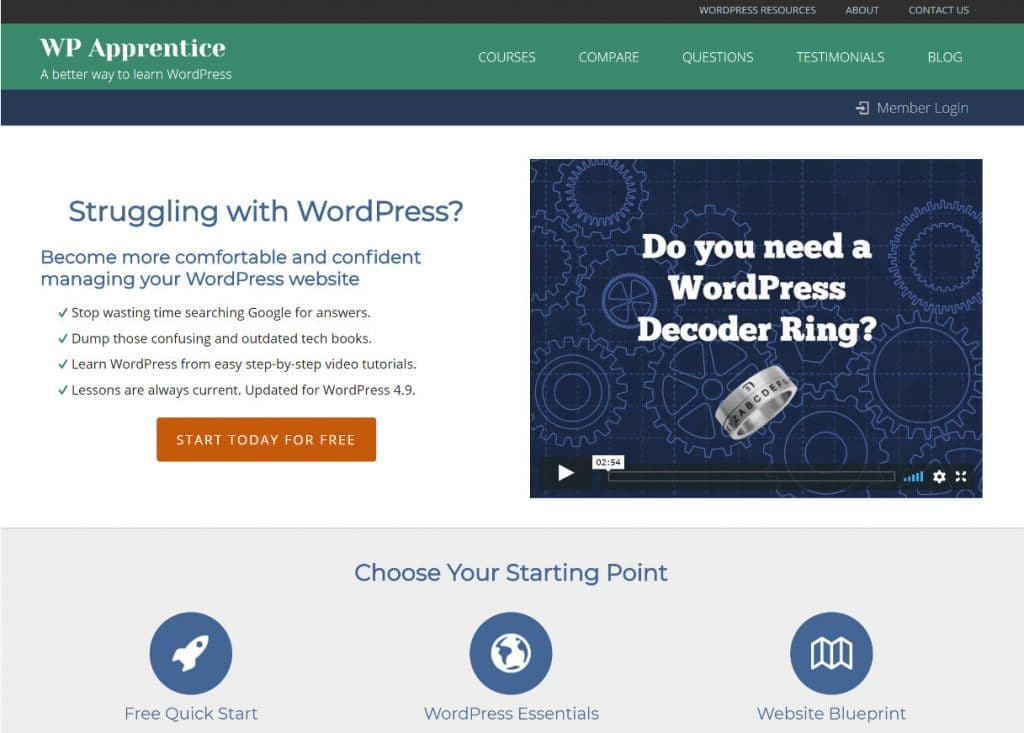 14 Awesome Online Places Where You Can Learn WordPress - Wir