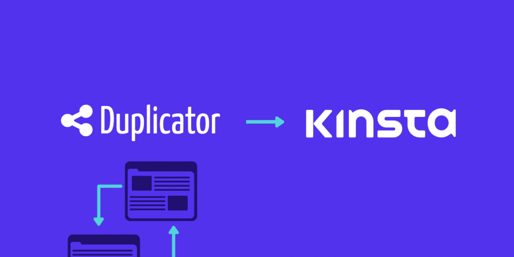 migrate to kinsta with wordpress duplicator plugin