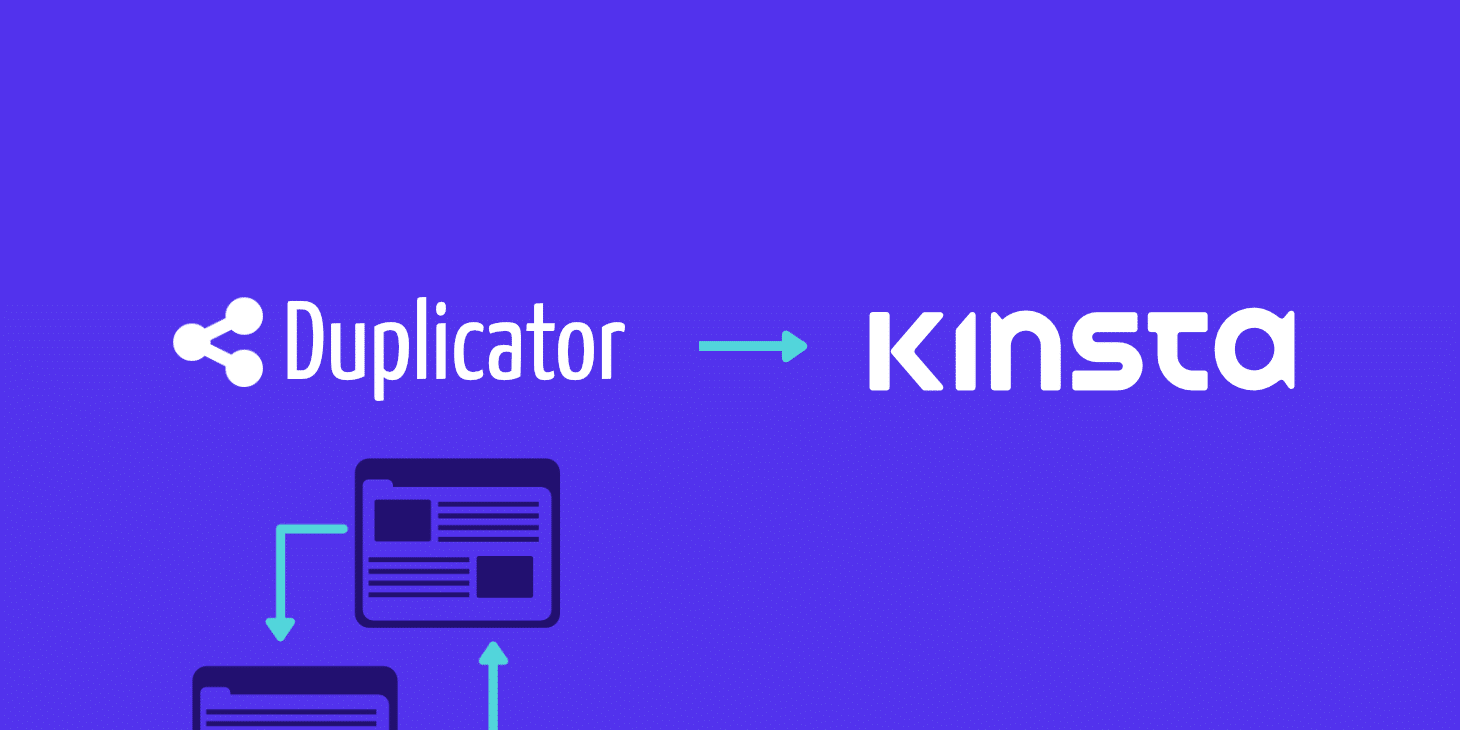migrate to kinsta with wordpress duplicator plugin