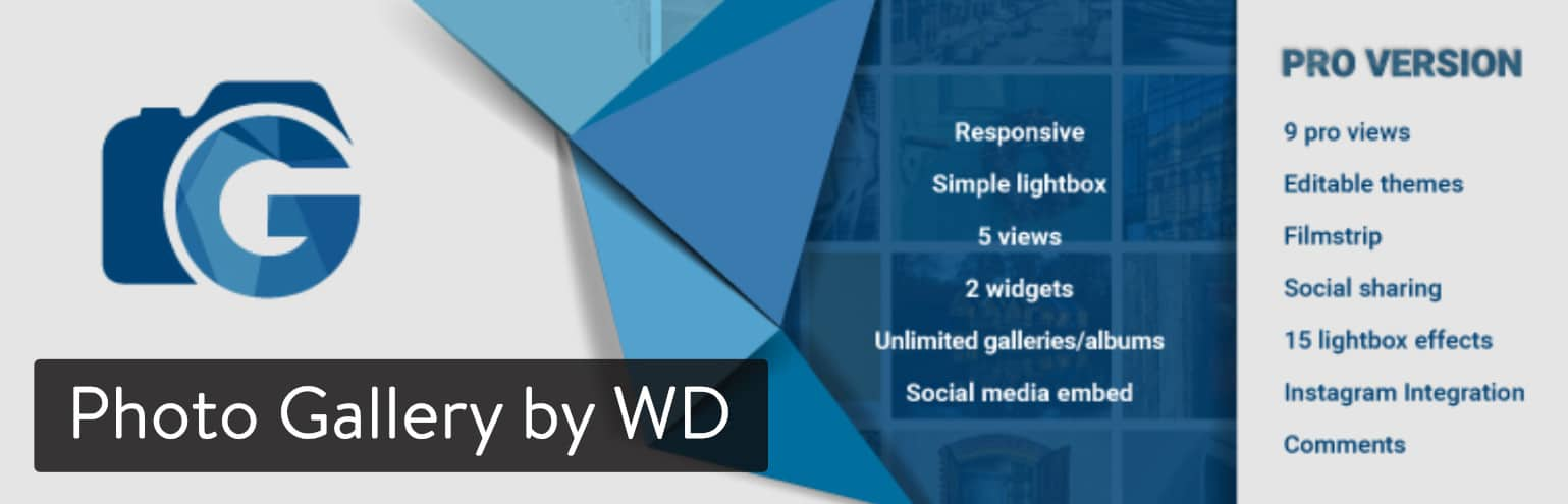 Photo Gallery by WD WordPress plugin