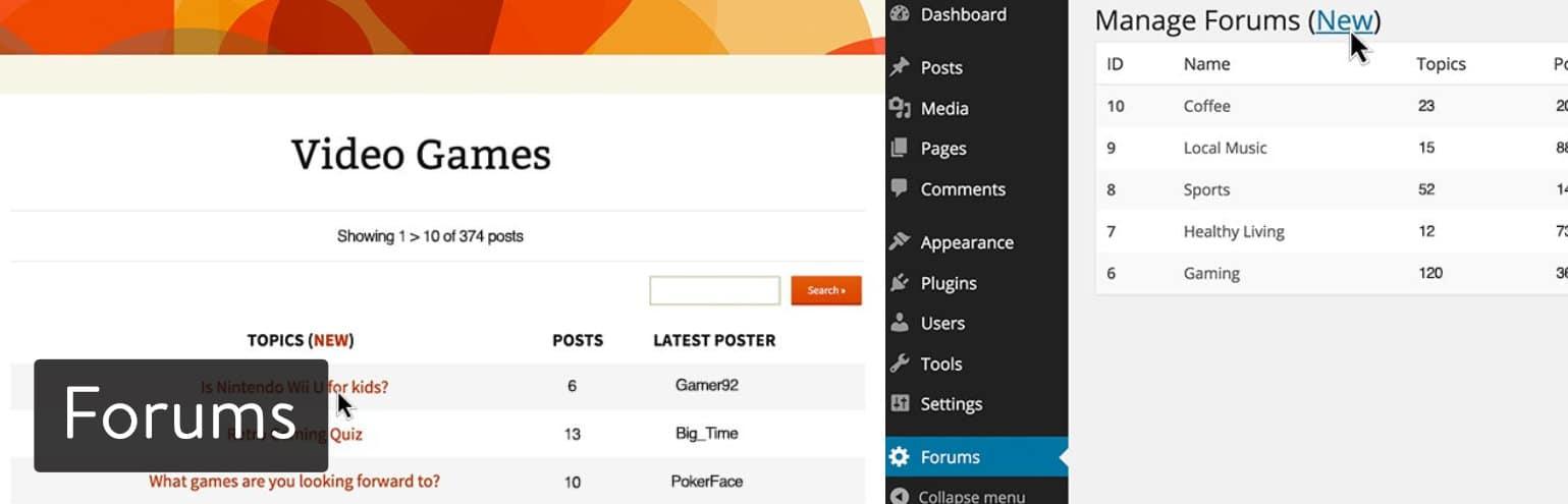 Forums from WPMU Dev