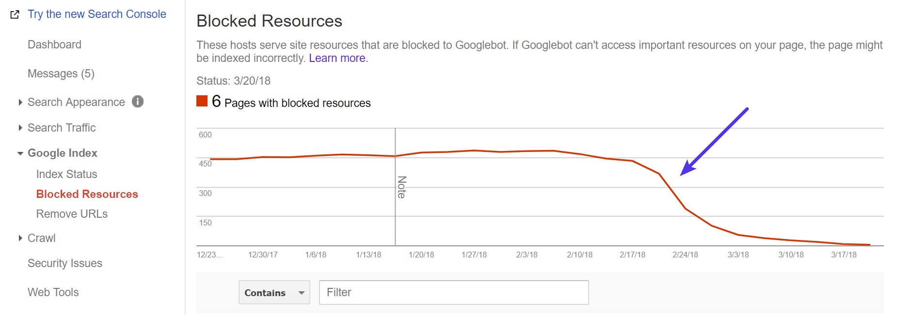 Fixing blocked resources on WordPress site