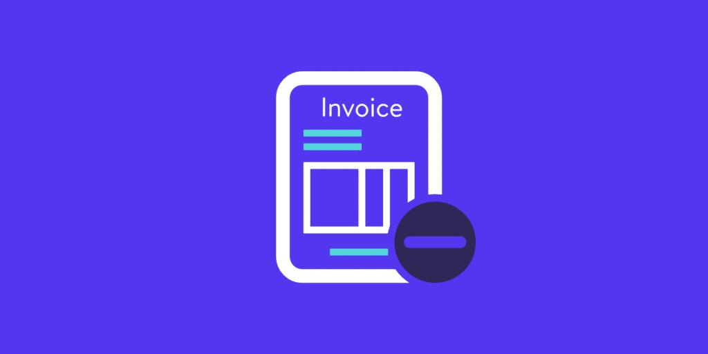 Unpaid invoice