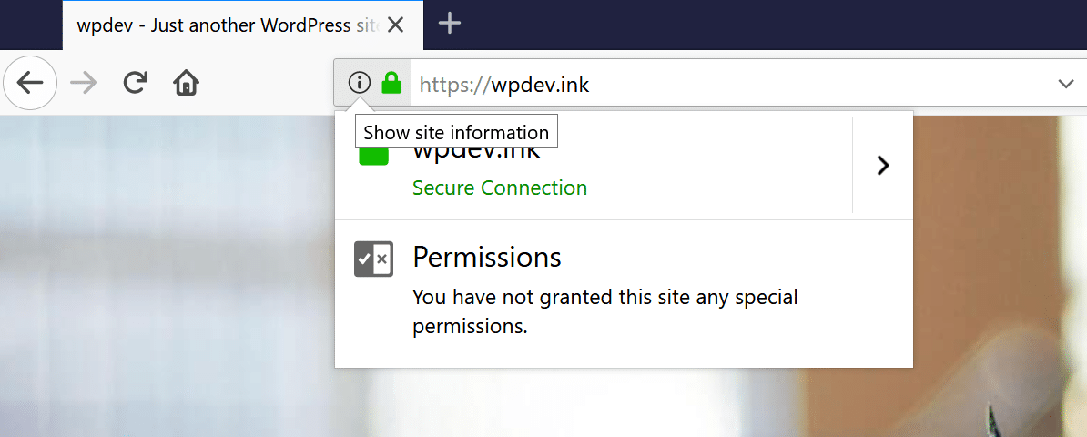 Firefox no mixed content warnings
