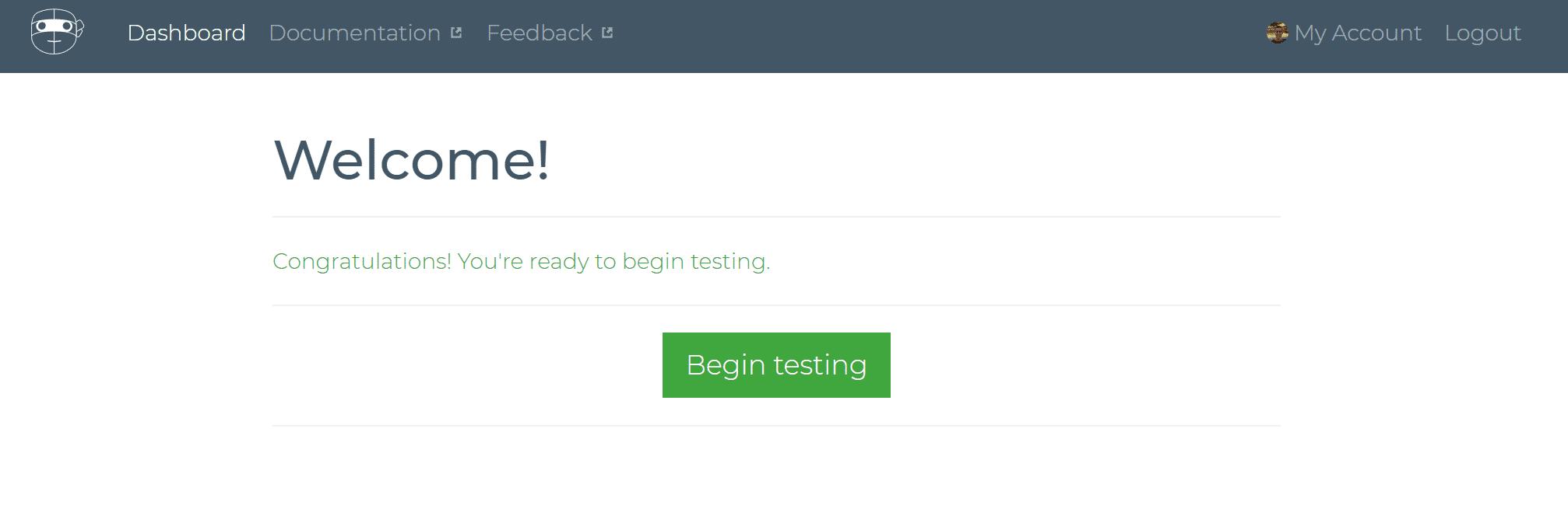 Begin testing Robot Ninja