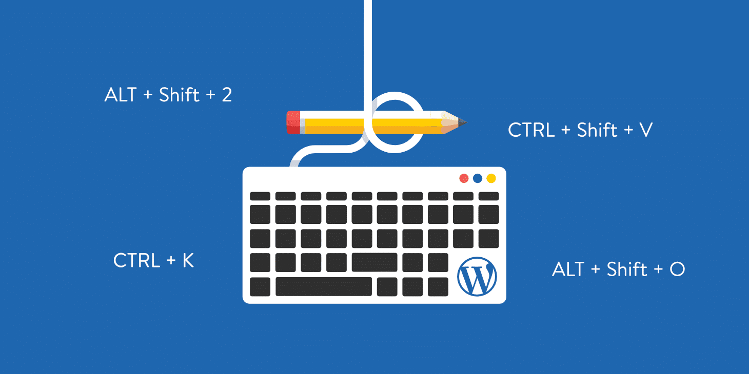 65+ WordPress Keyboard Shortcuts for Writing, Gutenberg + More